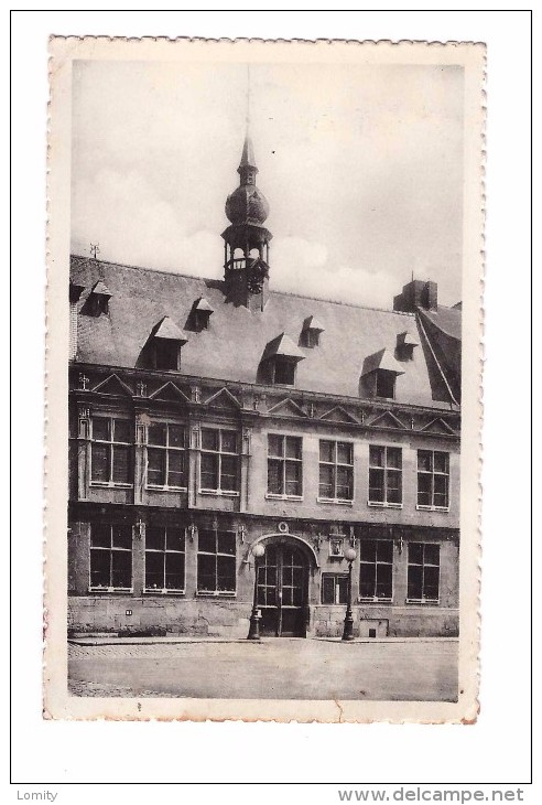 Belgique Braine Le Comte Hotel De Ville Timbre Cachet Braine Le Comte - Braine-le-Comte