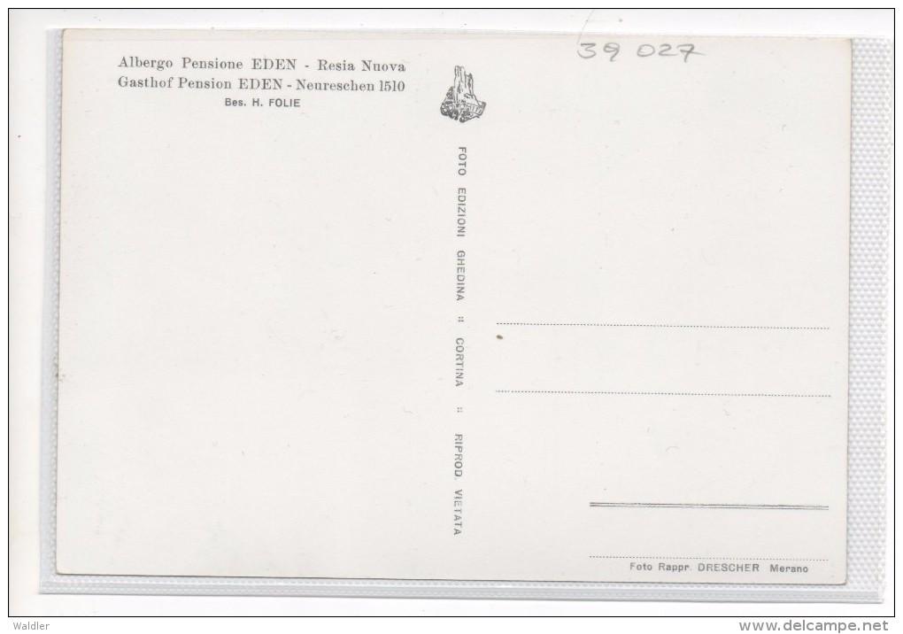 39 027   NEURESCHEN   -  GASTHOF EDEN     ~ 1960 - Unclassified