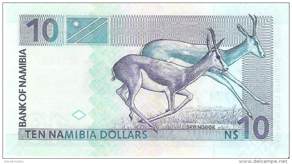 Namibia - Pick 4 - 10 Dollars 2001 - Unc - Namibia