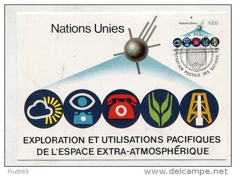 UNO / SWITZERLAND - AK 261863 MC - UN Geneva 1982 No 6 Exploration And Peaceful Uses Of Outer Space - Altri - Europa