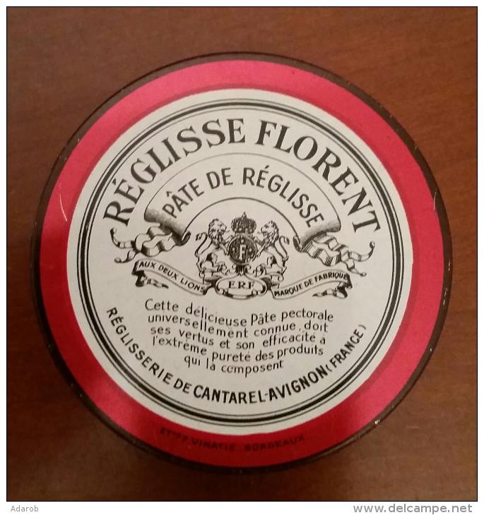 BOITE REGLISSE FLORENT - Boîtes