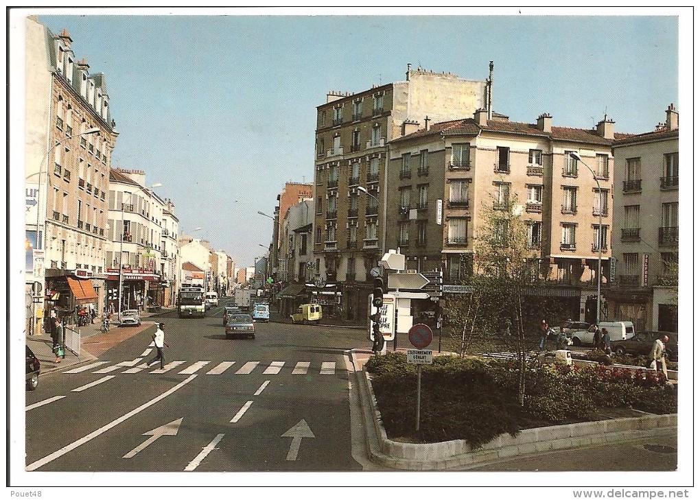 92 - ASNIERES - Place Des Bourguignons - Asnieres Sur Seine