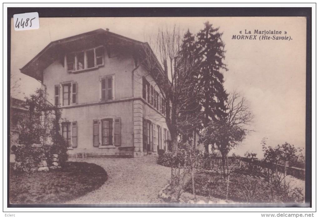 MORNEX - LA MARJOLAINE - TB - France