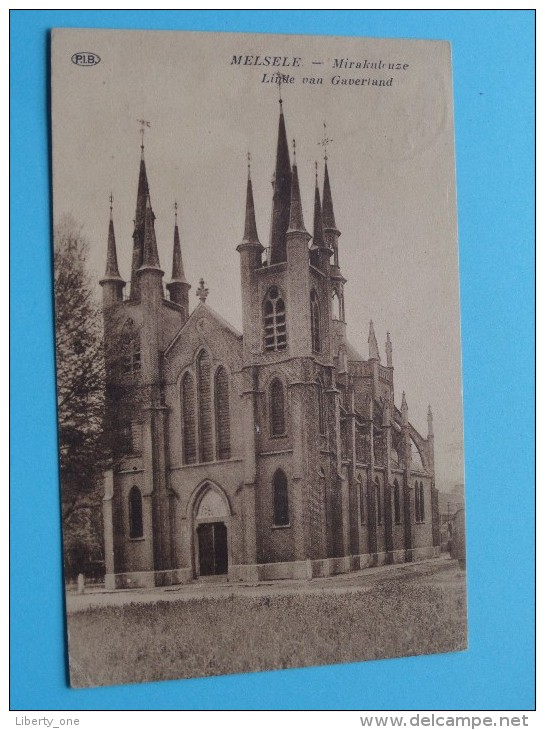 Mirakuleuze LINDE Van GAVERLAND Melsele ( P.I.B ) Anno 19?? ( Zie/voir Foto Voor Details ) !! - Beveren-Waas