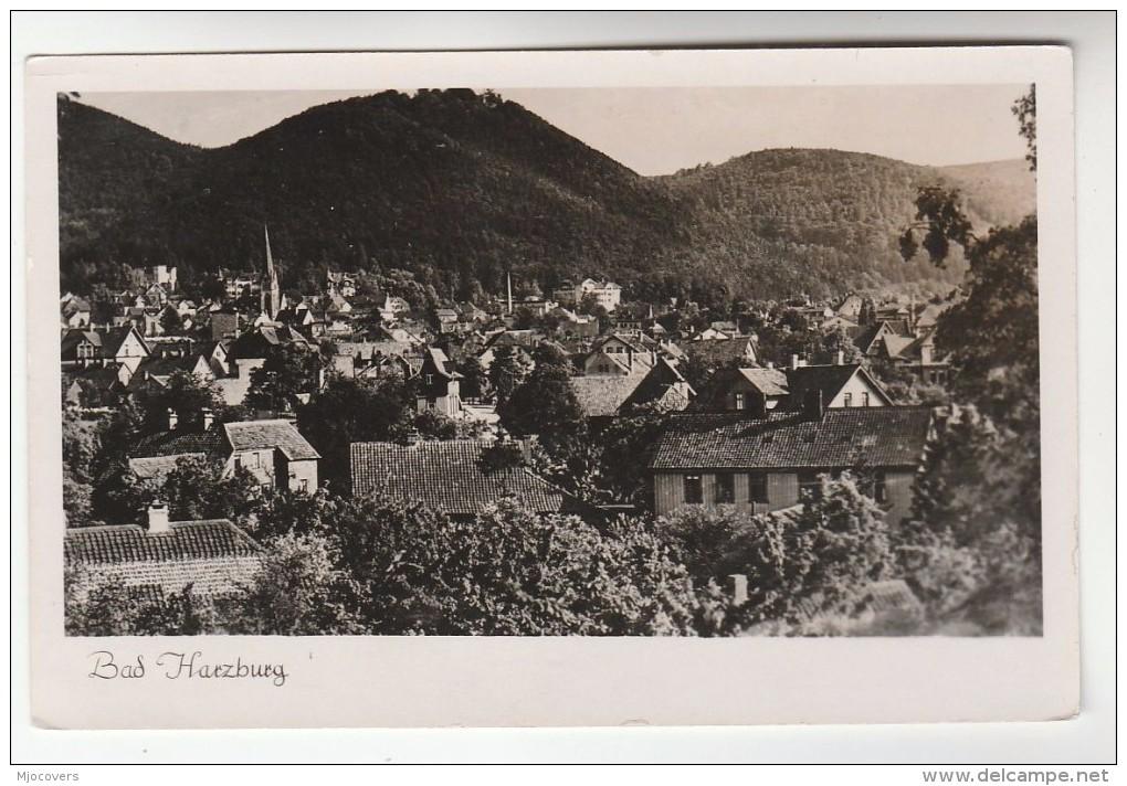 Old Photo Postcard, BAD HARZBURG GERMANY Unused, Panoramic - Bad Harzburg