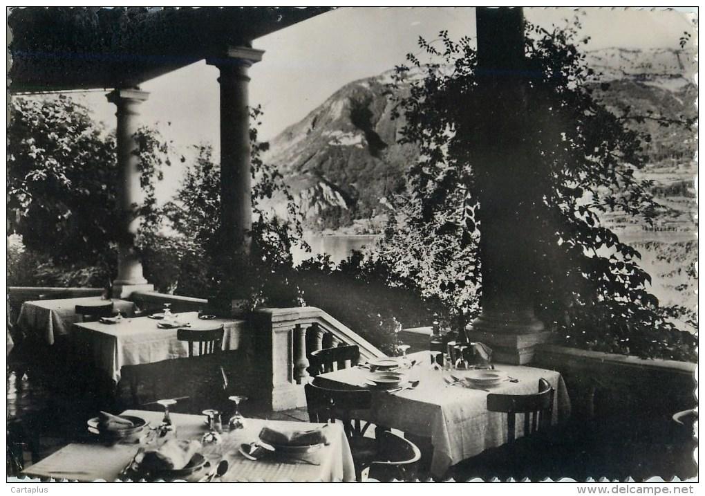 ANNECY HOTEL REGINA ROUTE DE SEVRIER TERRASSE VUE SUR LE LAC 74 - Annecy
