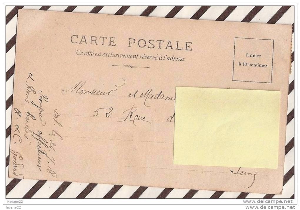 U177 AVIGNON PONT SUR LE RHONE PAR LE 7E GENIE 1908   2 SCANS - Avignon