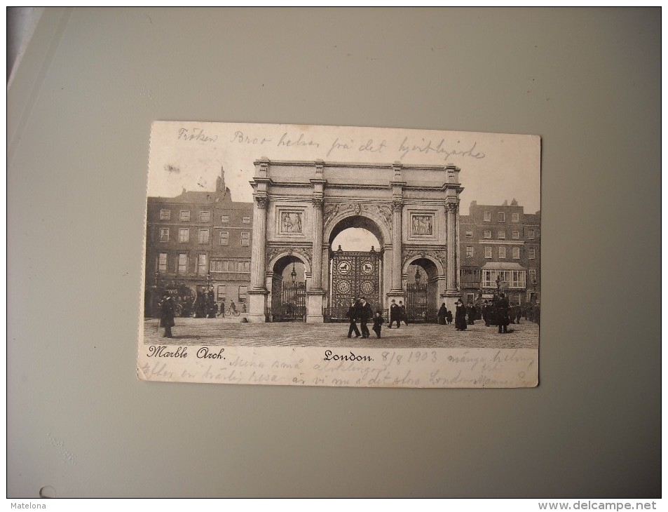 ANGLETERRE LONDON MARBLE ARCH - London
