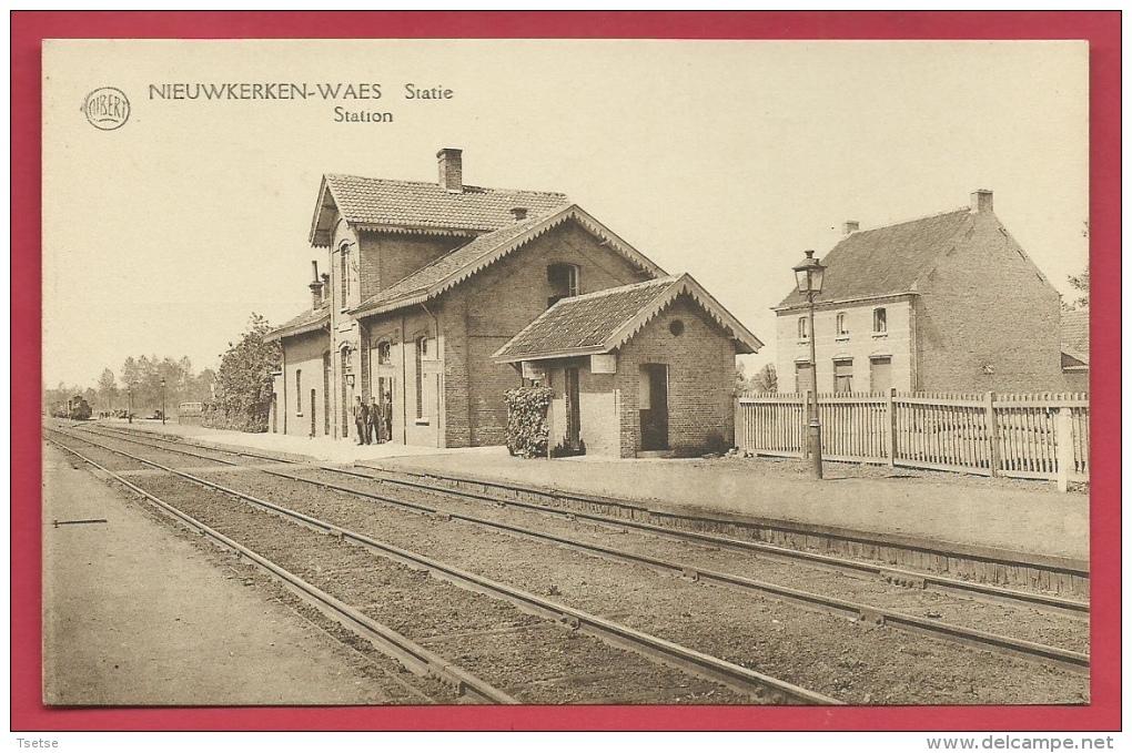 Nieuwkerken-Waas - De Statie ( Verso Zien ) - Sint-Niklaas