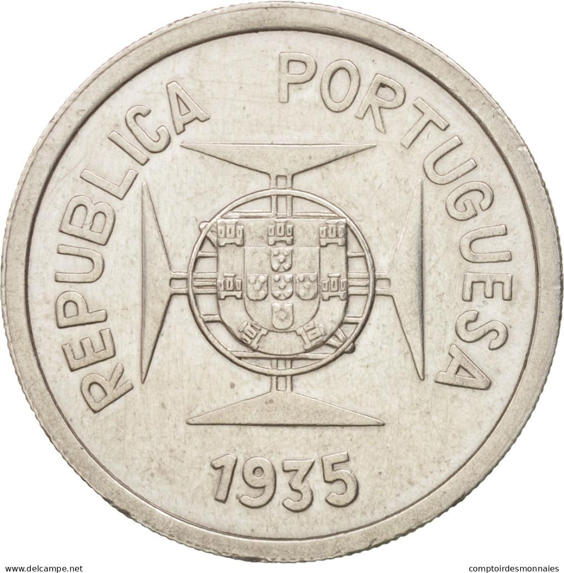 INDIA-PORTUGUESE, Rupia, 1935, SUP, Argent, KM:22 - India