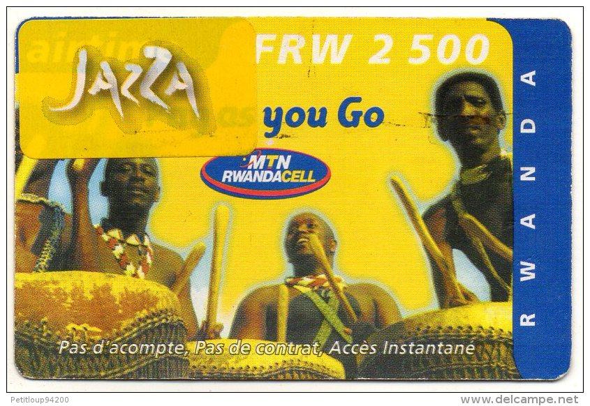 RECHARGE GSM RWANDA FRW 2500 - Rwanda