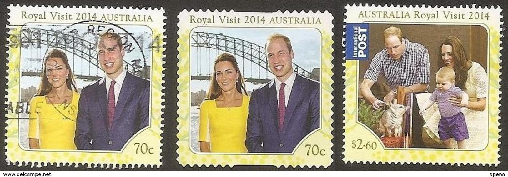 Australia 2014 Used Royal Visit - 2010-... Elizabeth II