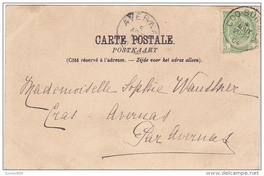 Souvenir De Malines - La Rue De L´Empereur (animée, Nels, 1900) - Malines
