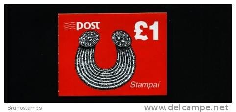 IRELAND/EIRE - 1995 £ 1 BOOKLET  GLENINSHEEN COLLAR   MINT NH - Libretti