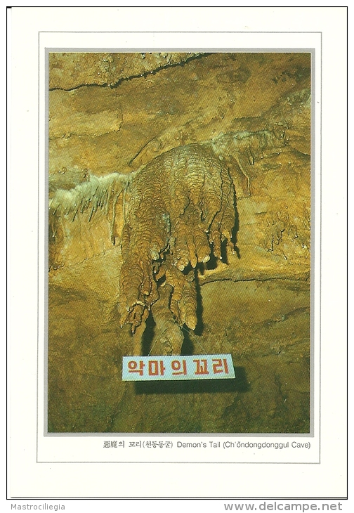 SOUTH KOREA   COREA DEL SUD  Demon´s Tail  Ch´ondongdonggul Cave  Grotte - Corea Del Sud