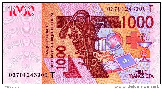 West African States - Afrique De L´ouest Togo 2003 Billet 1000 Francs Pick 815 A Neuf 1er Choix UNC - Togo
