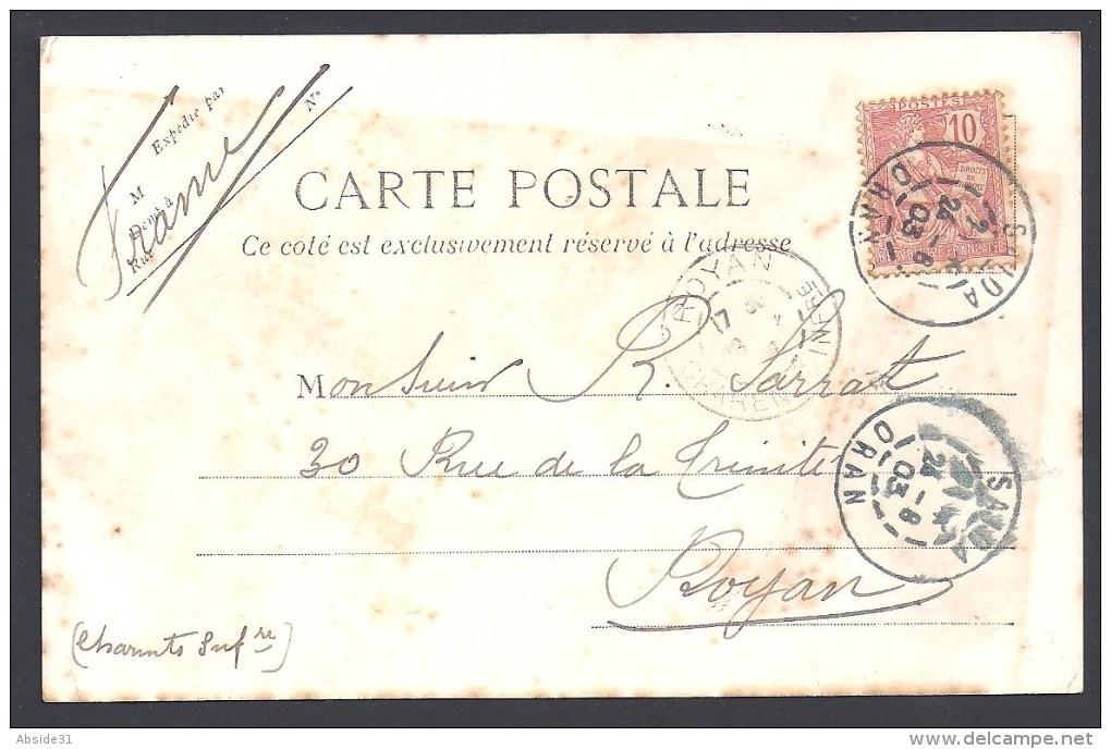 Algérie - Cachet  Bleu  De SAIDA  ORAN - Storia Postale