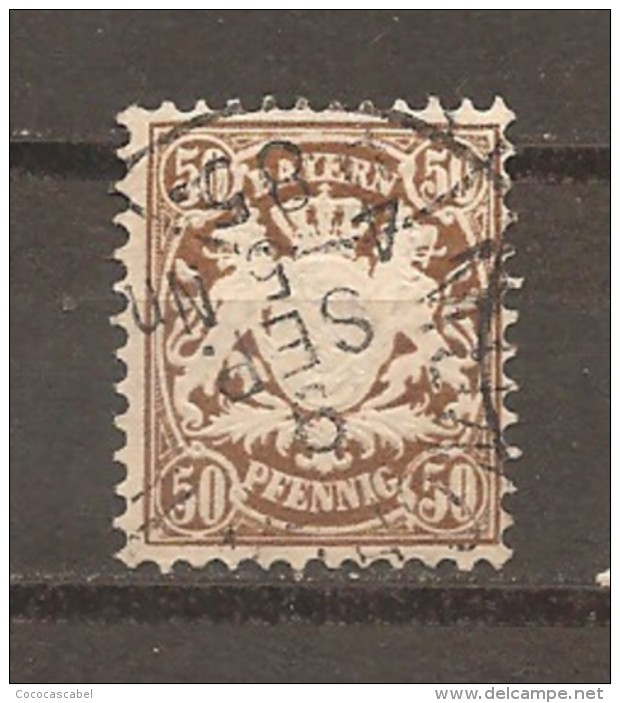 Baviera. Nº Yvert  53  (usado) (o) - Bavaria