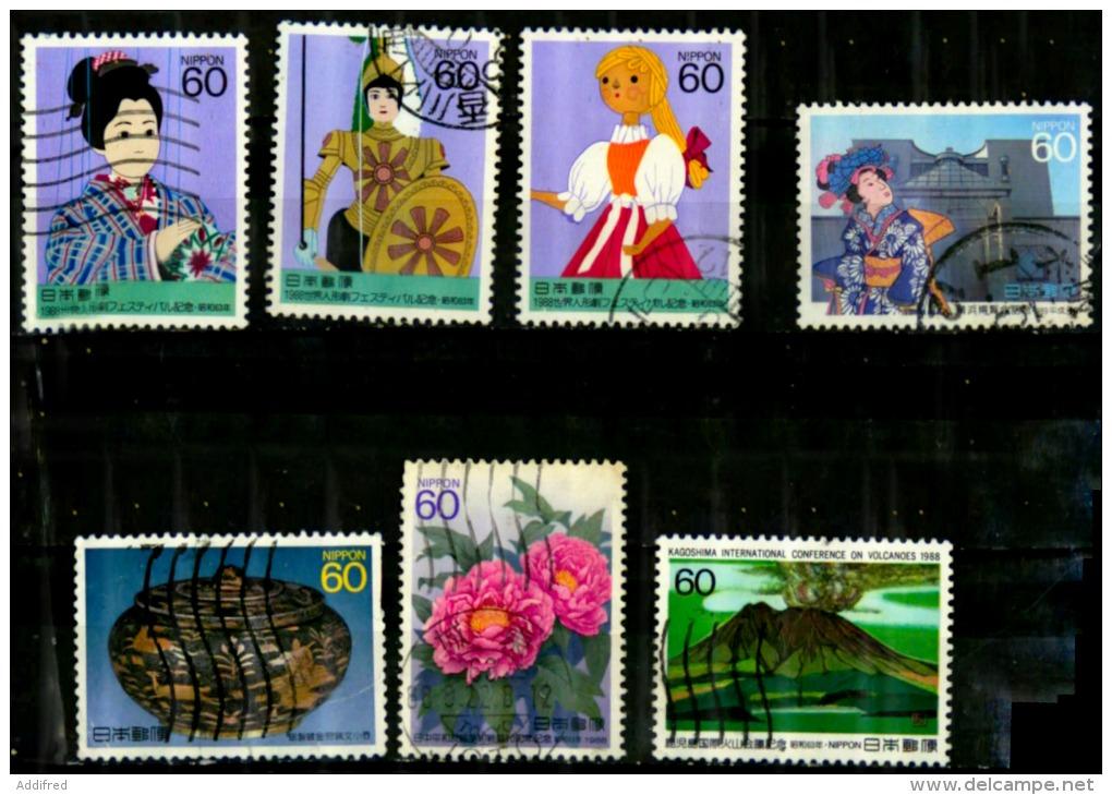 Japon Scott N°1795.1804.1814.1824.1800.1801.1803...oblitérés - Used Stamps