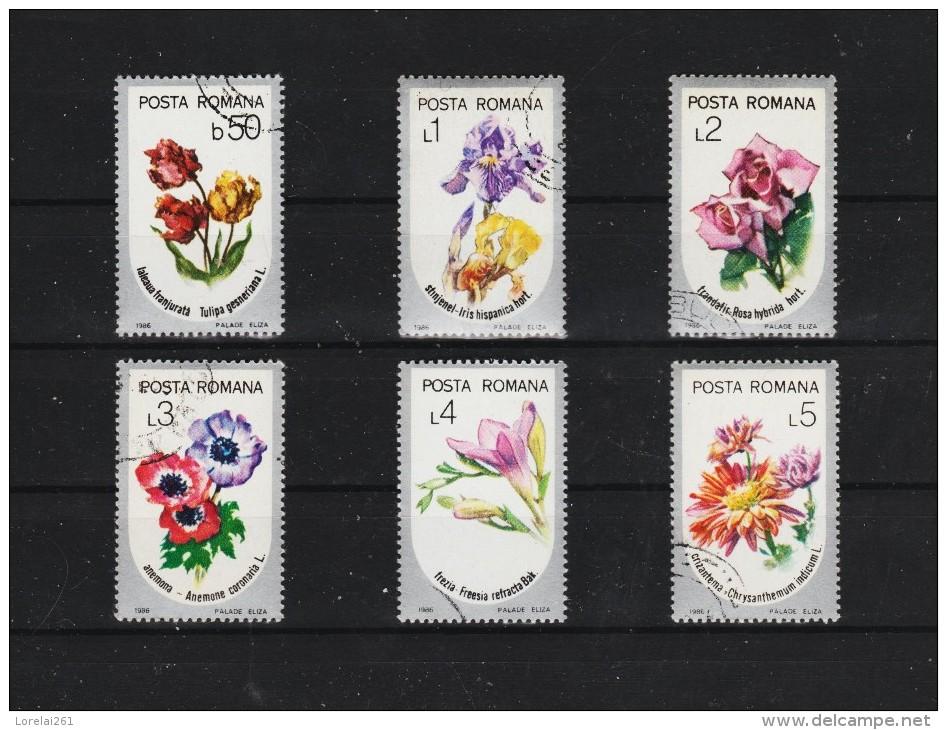 1986  FLORE Mi No  4268/4273 Et Yv  3677/3682 - 1948-.... Repúblicas