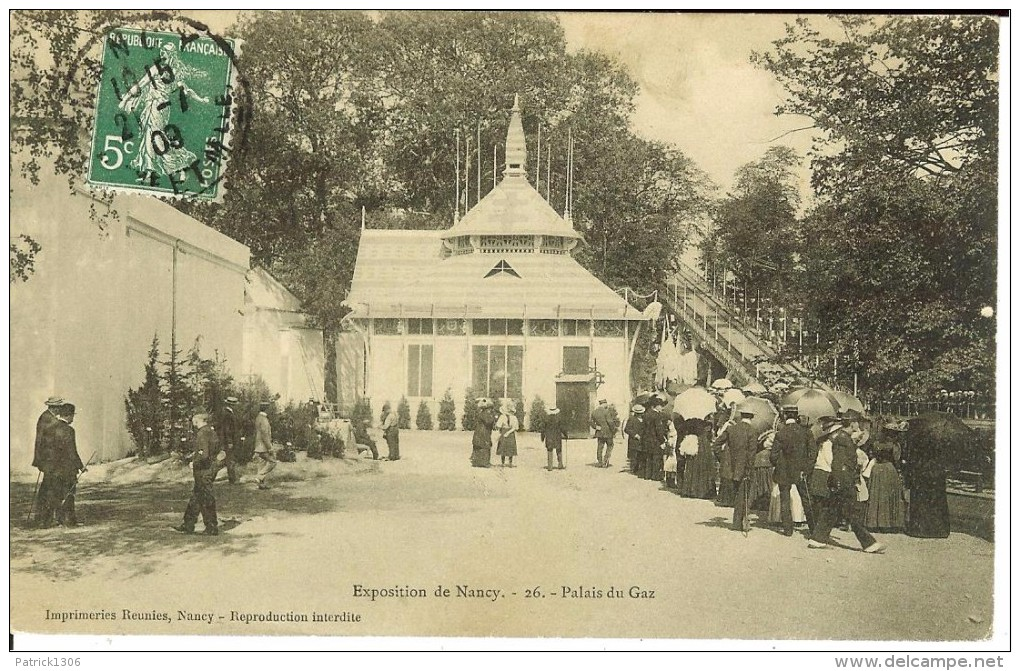 CPA  Exposition De NANCY, Palais Du Gaz  3780 - Exhibitions