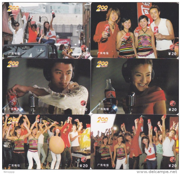 China 2005 Coca Cola Phonecards Serie To521 Used - China