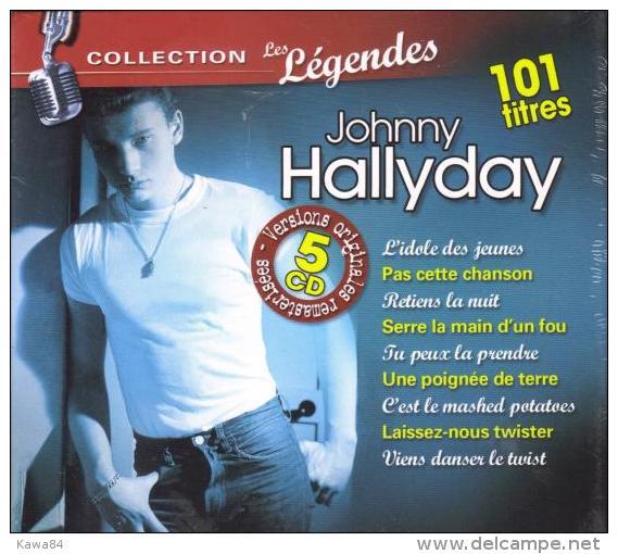 "Johnny Hallyday  ""  101 Titres "" - Music & Instruments"