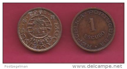 MOZAMBIQUE, 1963, 1 Escudo VF, KM 82, C2841 - Mozambico