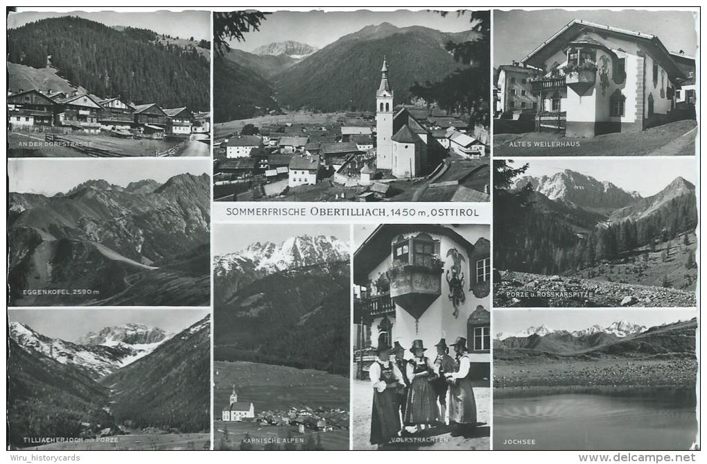 AK 0353  Obertilliach - Verlag Ledermann Um 1963 - Lienz