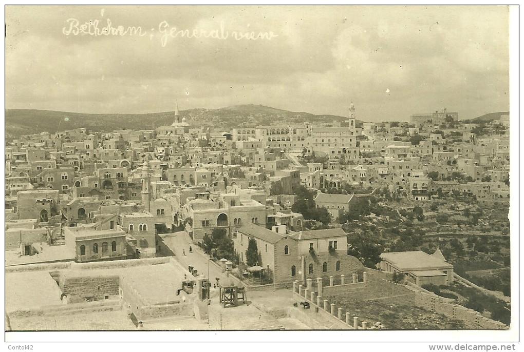 BETHLEEM CARTE PHOTO VUE GENERALE CISJORDANIE PALESTINE - Cartes Postales
