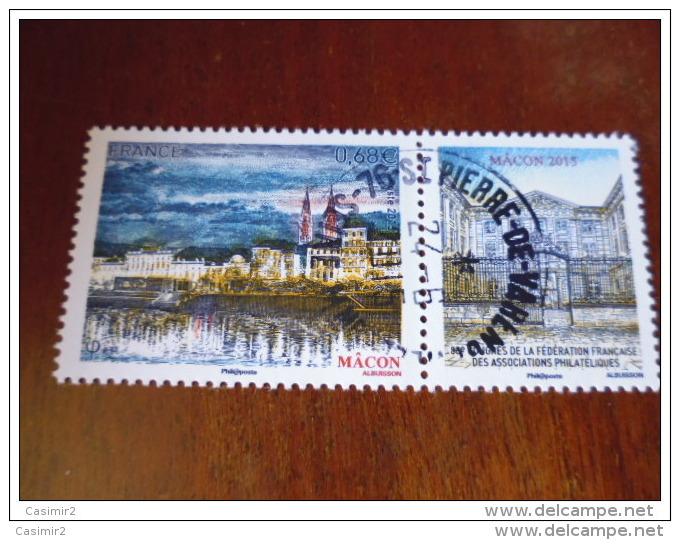 OBLITERATION RONDE  SUR TIMBRE GOMME ORIGINE YVERT N° 4956 - Francia