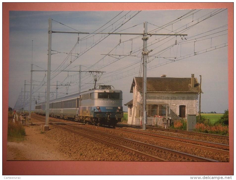 CF 344  OINVILLE SAINT LIPHARD   Train Dernier Passage Niveau Avec Barrières Manuelle En 2003 - Autres Communes