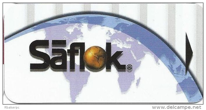 Generick Narrow Hotel Room Key Card From Saflok - Hotel Keycards