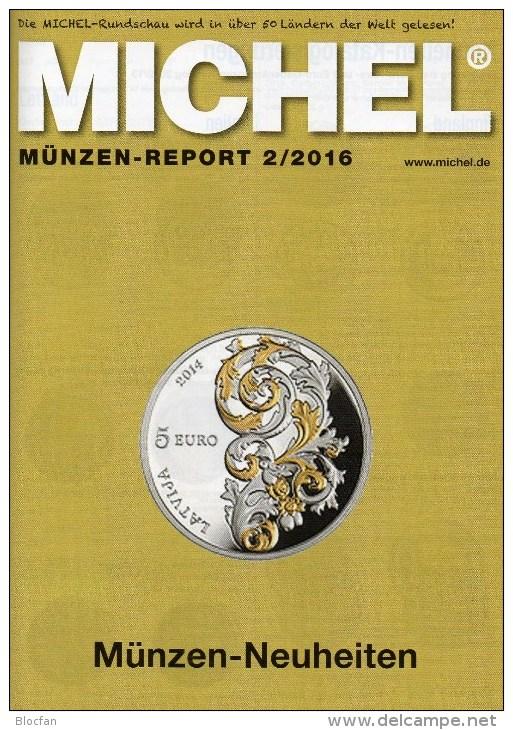 MICHEL Briefmarken Rundschau 2/2016 Neu 6€ New Stamps Of The World Catalogue/magacine Of Germany ISBN 978-3-95402-600-5 - German