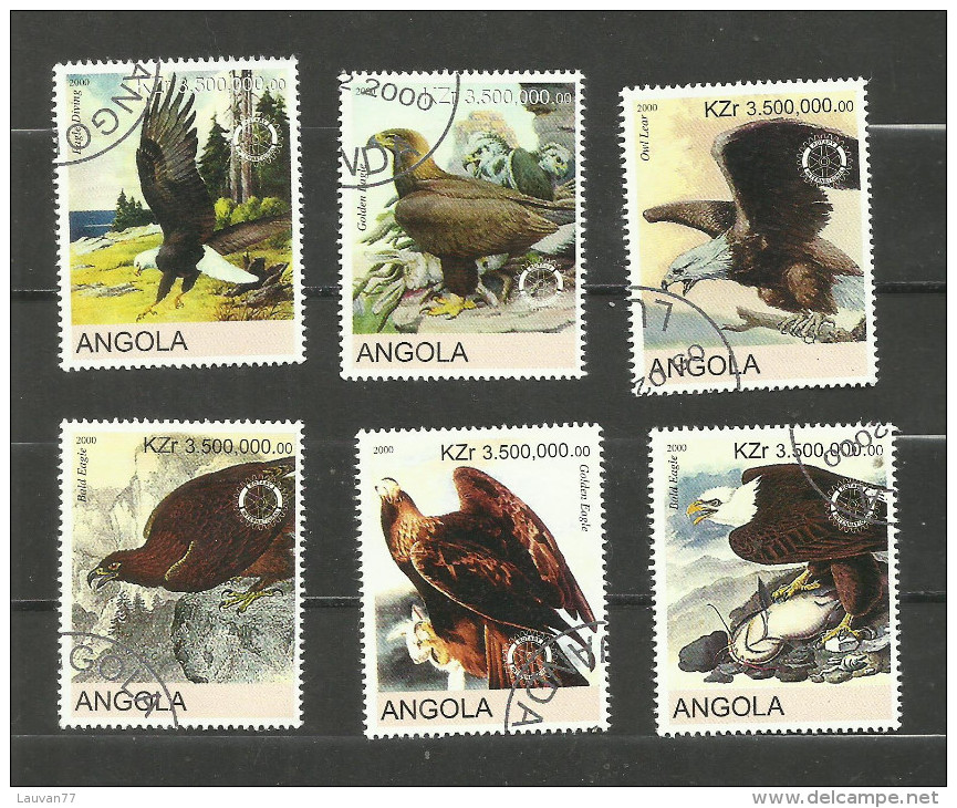 """Angola Année 2000 """"Aigles"""" - Angola"""
