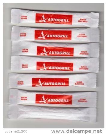 """6 Stick Sucre """" AUTOGRILL """" (S120) _Di164 - Sugars"""