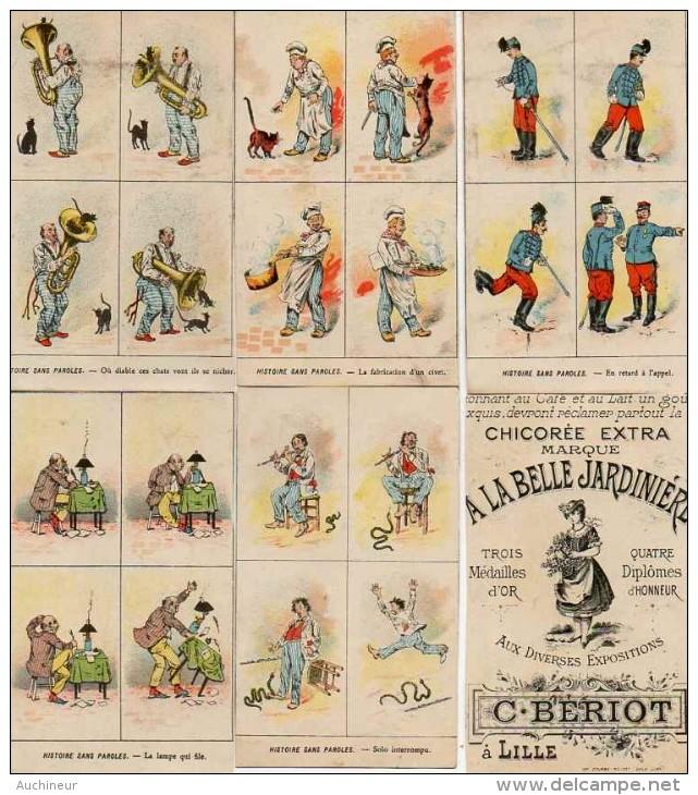A La Belle Jardinière, C Bériot - Histoire Sans Paroles X 5a (raccourcie - Altri