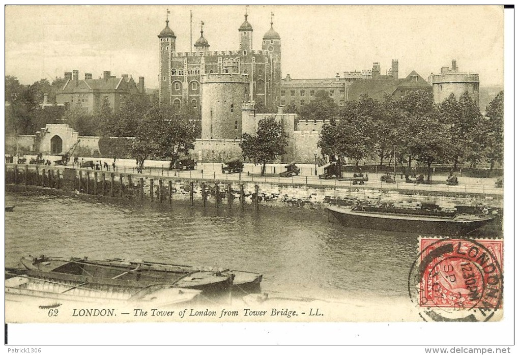 CPA  LONDON, The Tower Of London From Tower Bridge 4570 - Altri