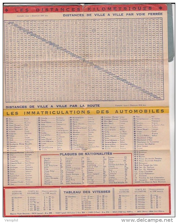 CALENDRIER DU SIECLE INSERER DANS CARNET PUB CARROSSERIE AUTOMOBILE G.KLEYNHOFF -PARIS - Calendriers