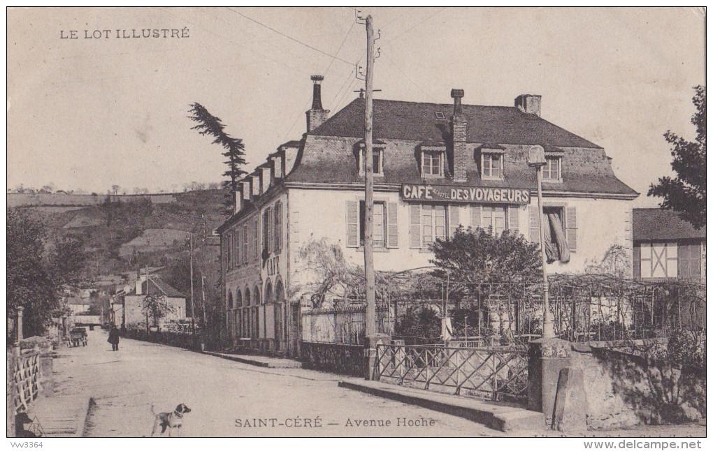 SAINT-CERE: Avenue Hoche - Saint-Céré