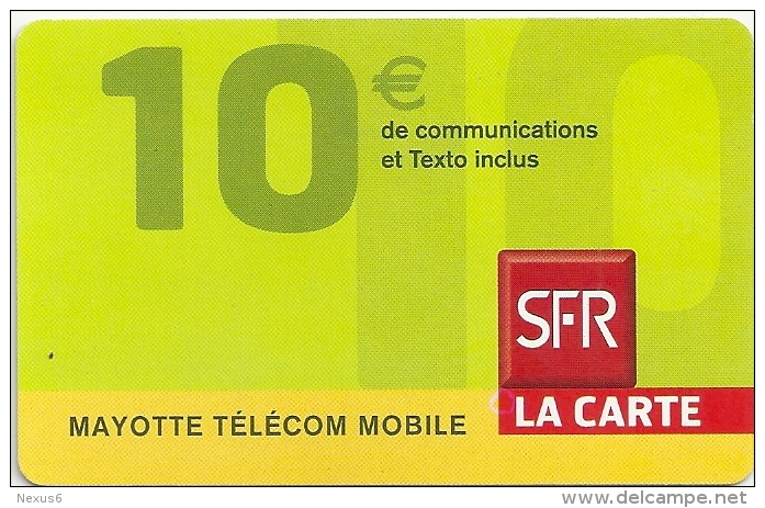 Mayotte - SFR - Yellow Bottom Band, Exp. 12-2008, Used - Telefoonkaarten