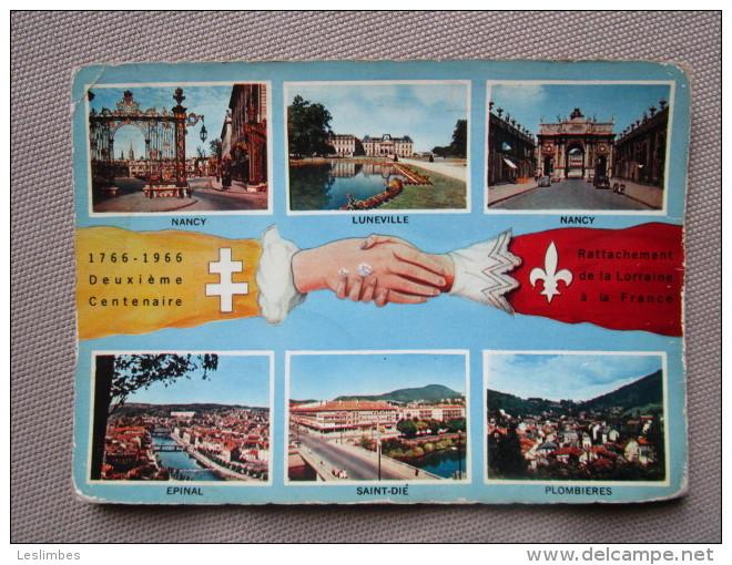 1766-1966 Deuxieme Centenaire Rattachement De La Lorraine A La France - Lorraine
