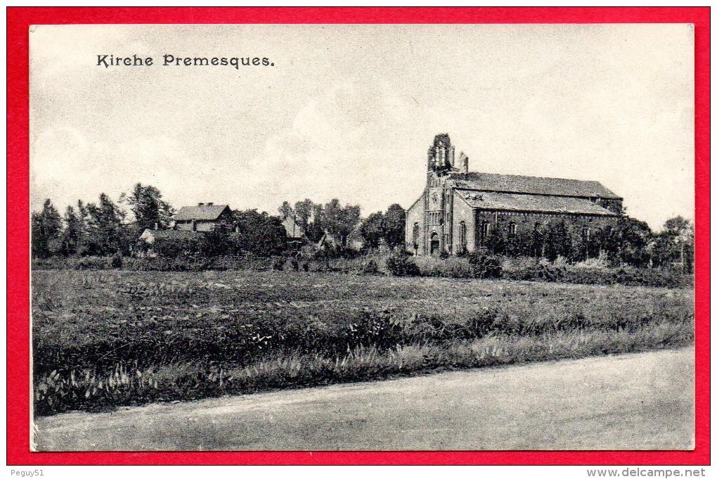 59. Premesques. Ruines De L'église Saint-Laurent. Janvier 1916 - France
