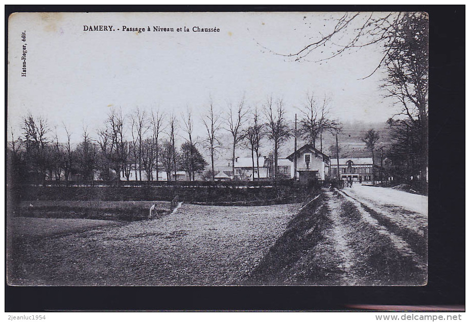DAMERY PASSAGE A NIVEAU - France