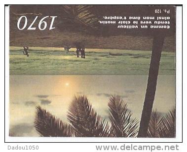 Calendrier De Poche 1970 - Calendriers
