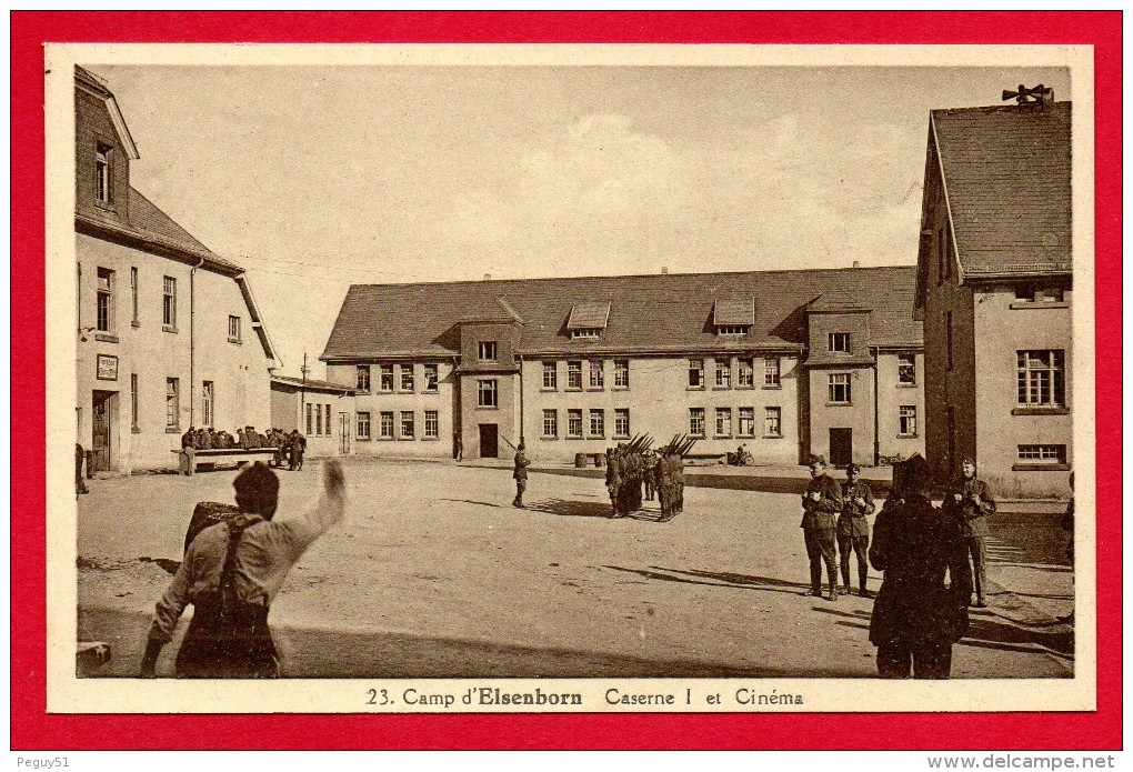 Camp  D'Elsenborn. Lot De 6 Cartes. Voir Scans - Elsenborn (camp)