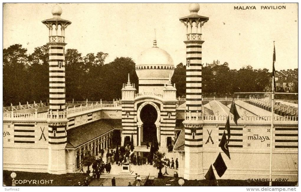EXHIBITION - 1924 EMPIRE - MALAYA PAVILION - Exhibitions