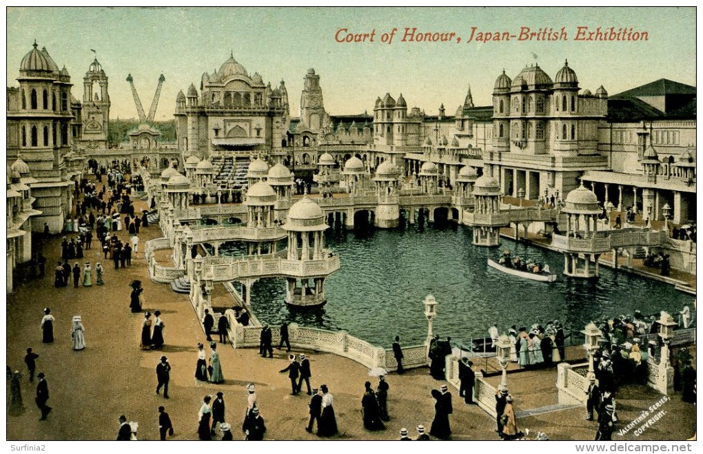 EXHIBITION - JAPAN-BRITISH - COURT OF HONOUR - Exhibitions