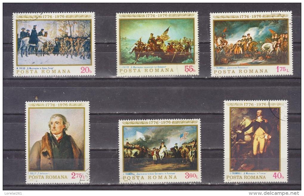 1976  - Bicentenaire De L Independance Des Etats-Unis Mi No 3320/25 Et Yv 2943/48 - 1948-.... Republiken