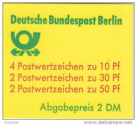 BERLIN Markenheftchen MH 11 A OZ,  Postfrisch - [5] Berlino